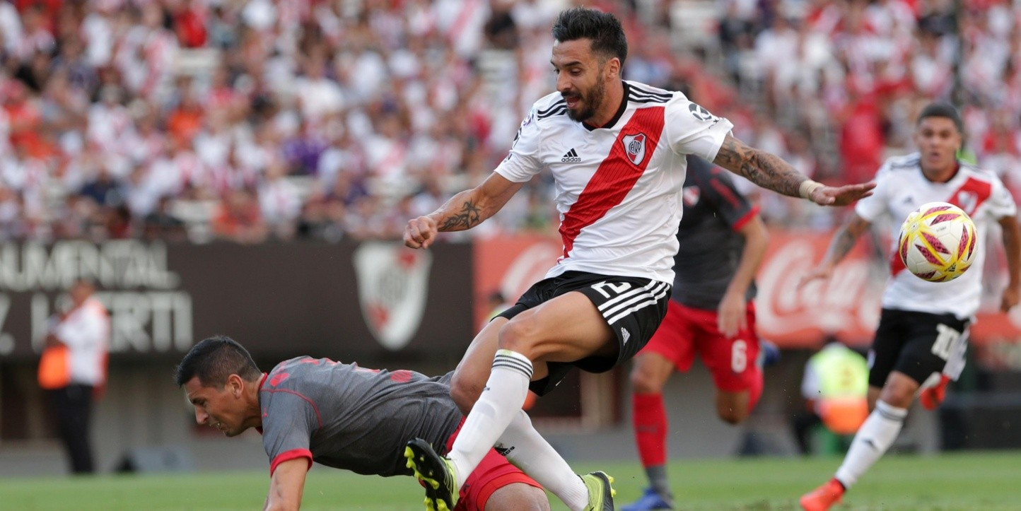 River suma 39 puntos en la Superliga 2018-19.