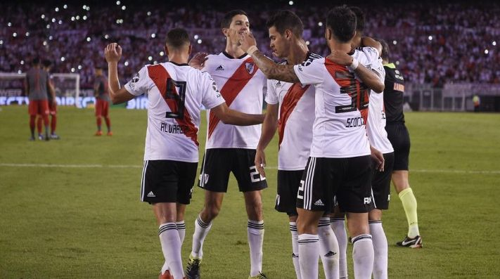 River suma 42 puntos en la Superliga 2018-19.