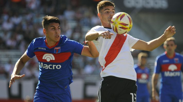 River suma 45 puntos en la Superliga 2018-19.