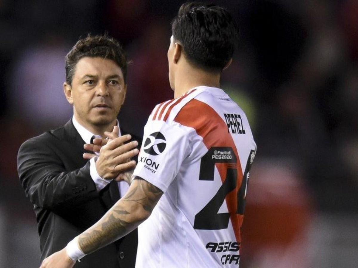 Qué dijo Gallardo sobre la lesión de Enzo Pérez | La Página Millonaria