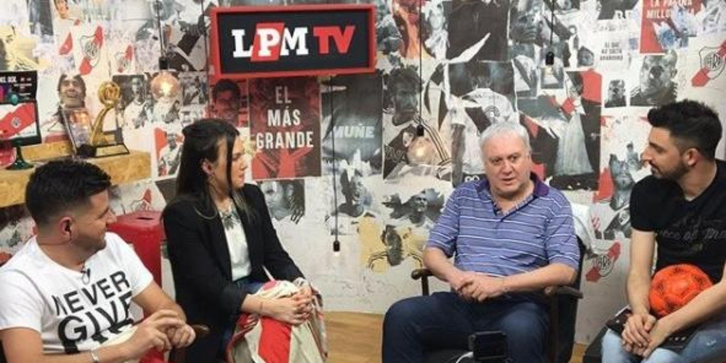 El Beto Alonso, en LPM TV.