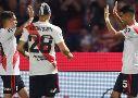 Tras eliminar a Estudiantes, el Millonario deberá definir el título contra Central Córdoba.