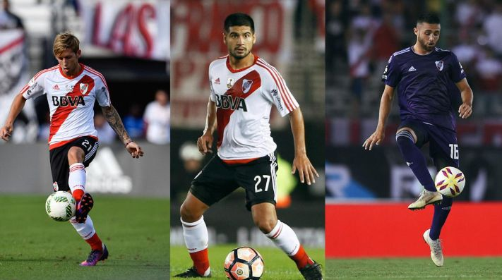 En los próximas horas se resolverá la situación de los tres futbolistas