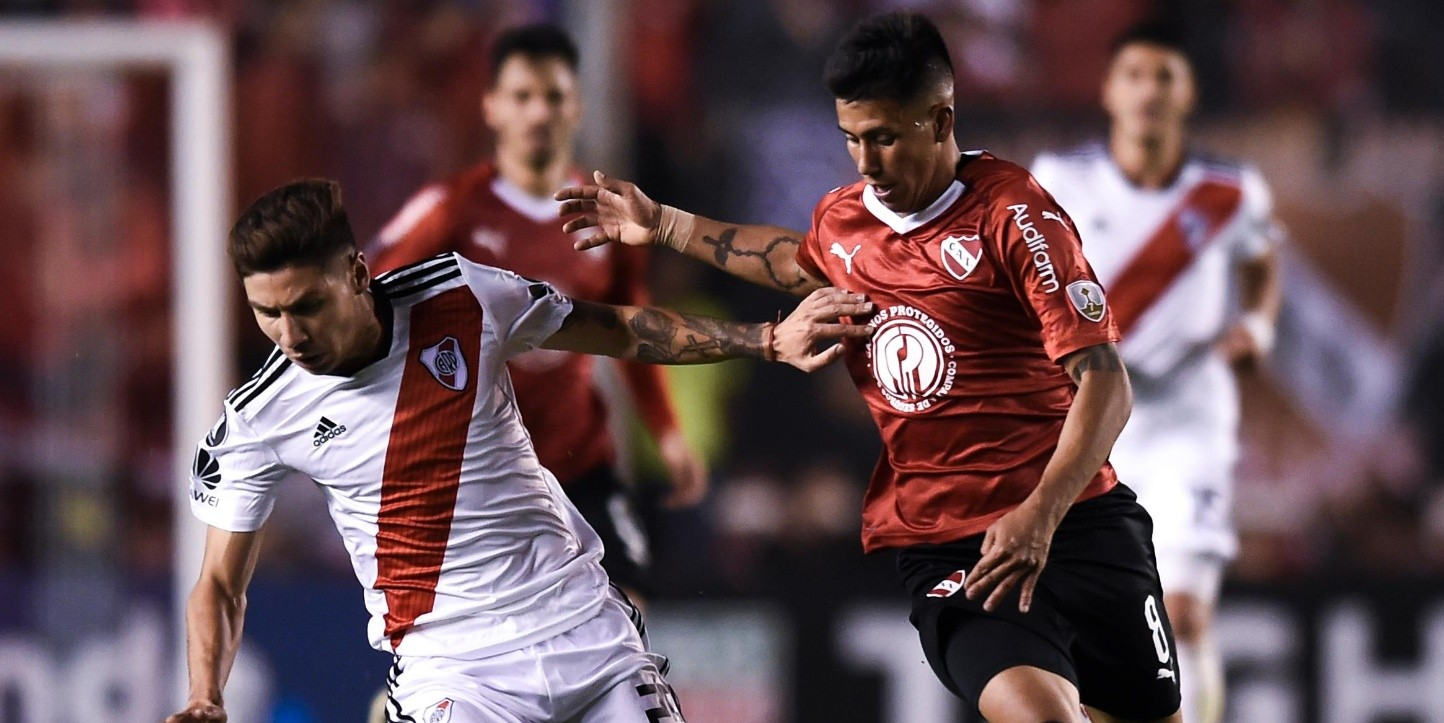 River visita a Independiente por la fecha 14 de la Superliga.