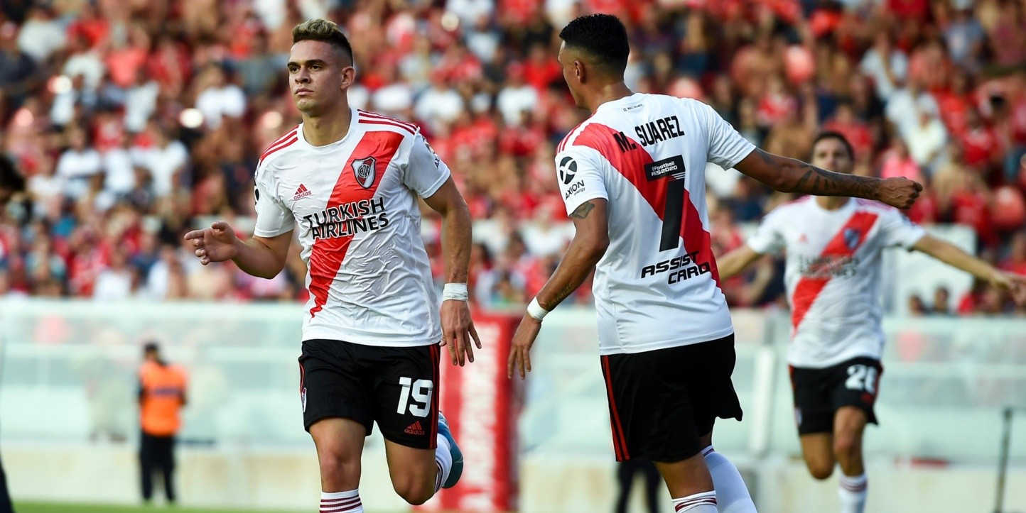River le ganó a Independiente y va por más en la Superliga.