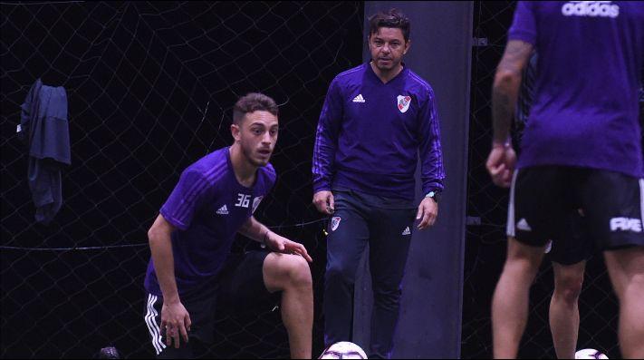Nahuel Gallardo no será tenido en consideración por el técnico de River.