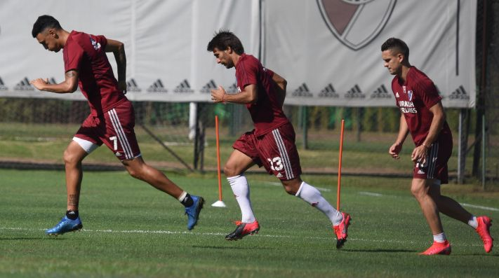 River se entrenó en el River Camp.