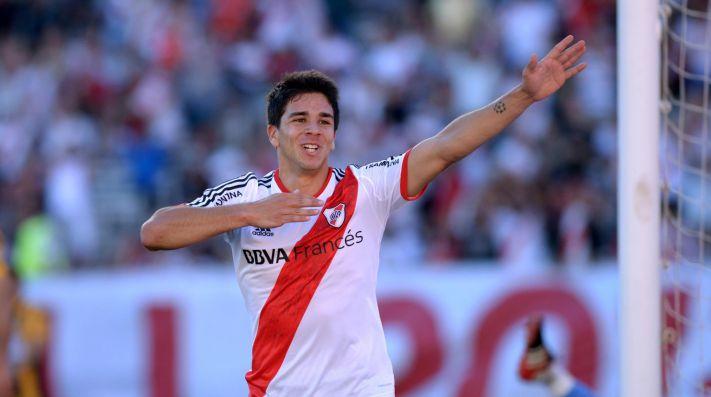 Giovanni anotó cuatro goles con la camiseta de River.
