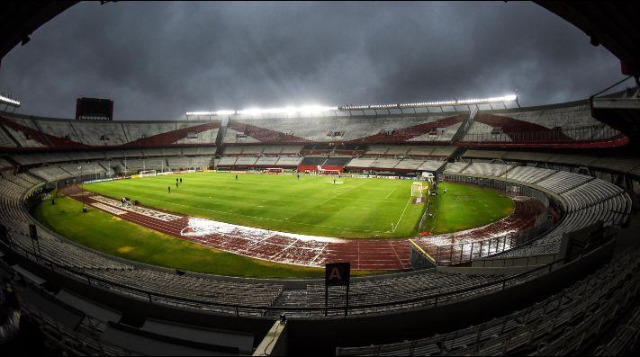 El Estadio Monumental, a disposición del Gobierno.