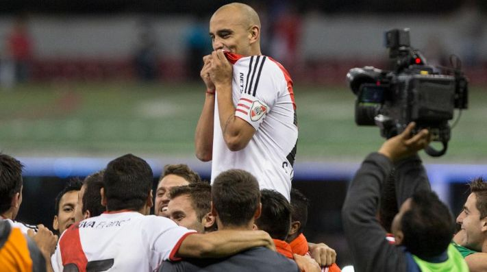 Ledesma disputó 153 partidos oficiales en River y marcó un gol