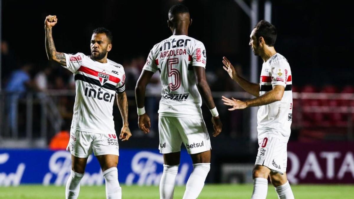 San Pablo Dani Alves Copa Libertadores Brasil | La Página Millonaria