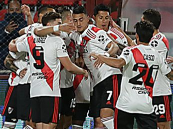 River viene de ganarle a Rosario Central, en la cancha de Independiente.
