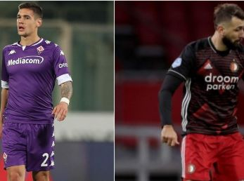 Martínez Quarta y Pratto ingresaron sobre el final este domingo en Europa