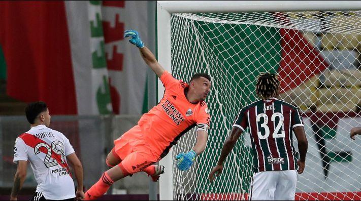 Franco Armani analizó el empate frente a Fluminense