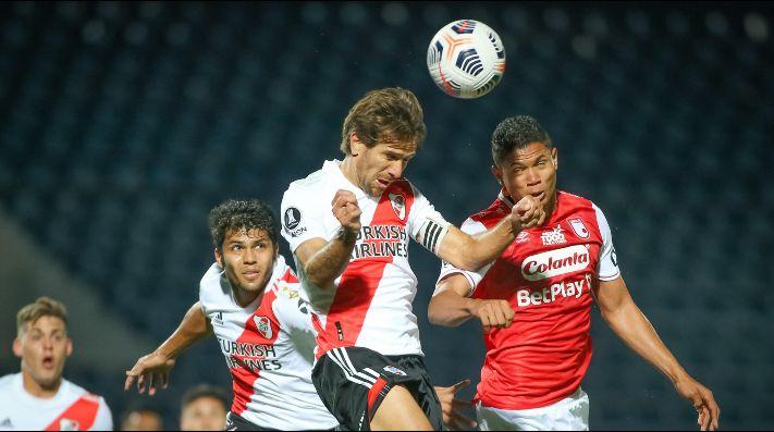 El Millonario se enfrenta con Independiente Santa Fe por la tercera jornada del Grupo D de la Copa Libertadores.