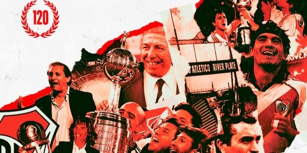 Grandes personalidades de la historia del club saludaron a River por los 120  años. | La Página Millonaria