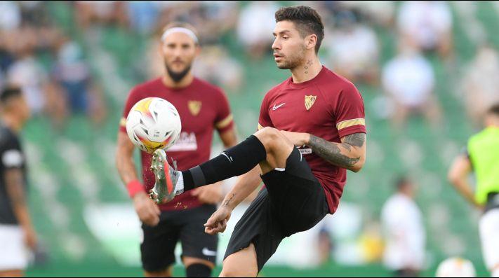 Gonzalo Montiel dejó River a medidos de año, se fue a jugar al Sevilla de España donde es compañero de los argentinos Erik Lamela, Lucas Ocampos, Marcos Acuña y Alejandro Gómez.